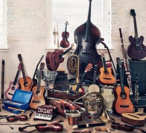 A heap of instruments