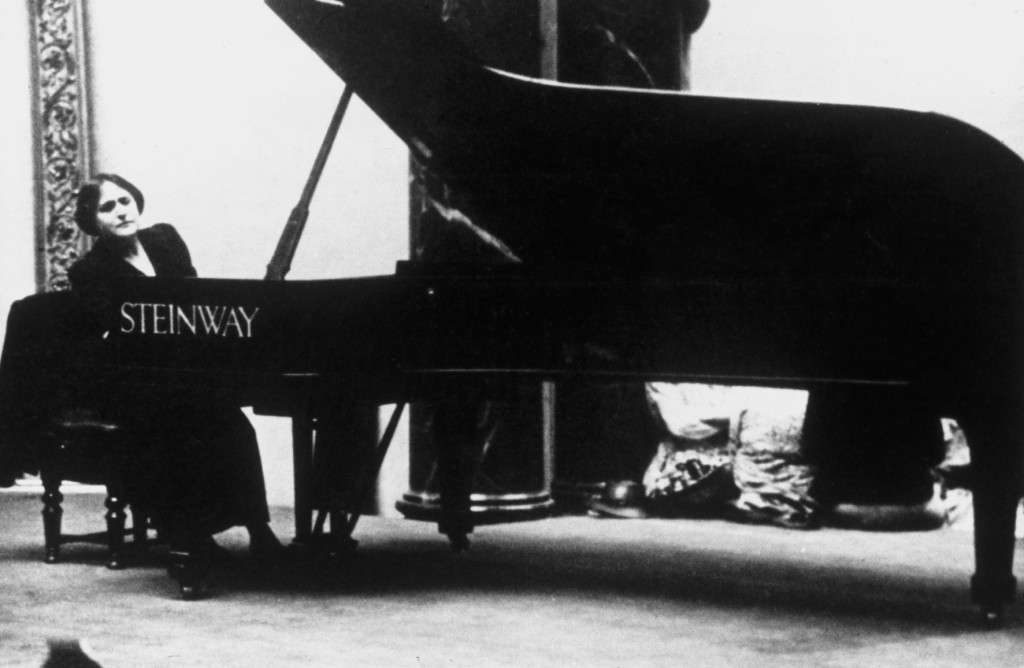 Myra Hess at the National Gallery