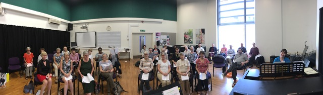 City Lit choral workshop photo